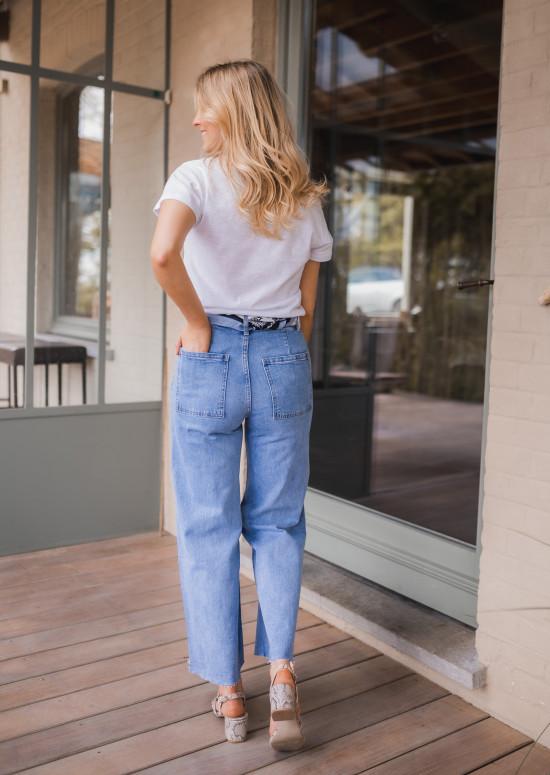 Jeans Bastian bleu