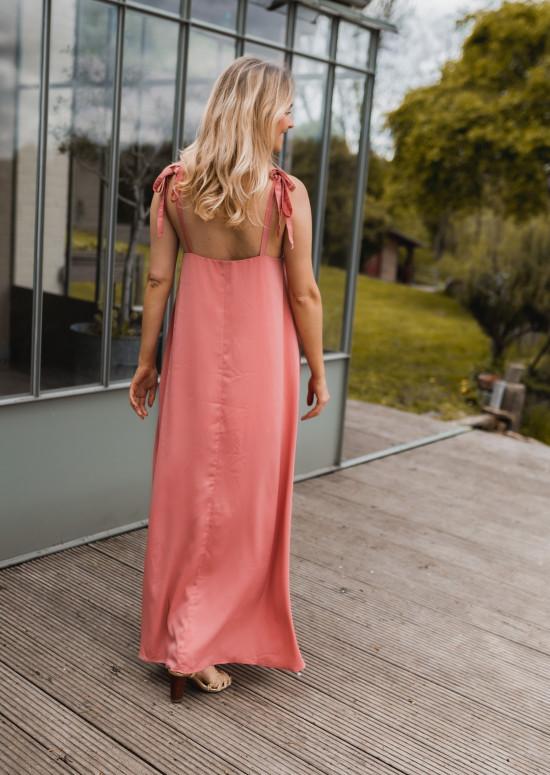 Pink Erine long dress - CREATION