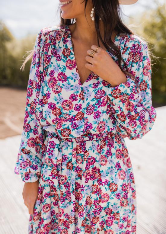Bonie dress with flowers - CREATION