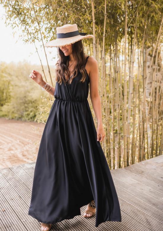 Black Bali long dress