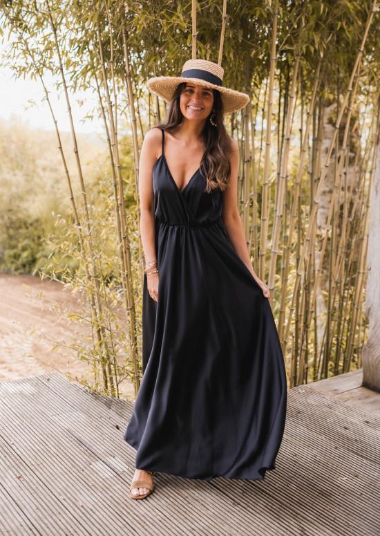 Robe longue Bali noir