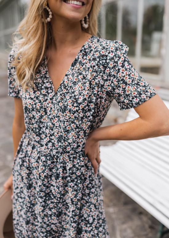 Dress with flowers Maryne