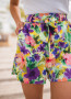 Josh shorts with flowers - CREATION