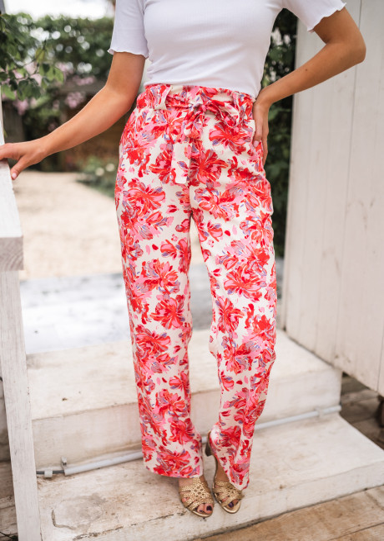 Pantalon Trina à motifs