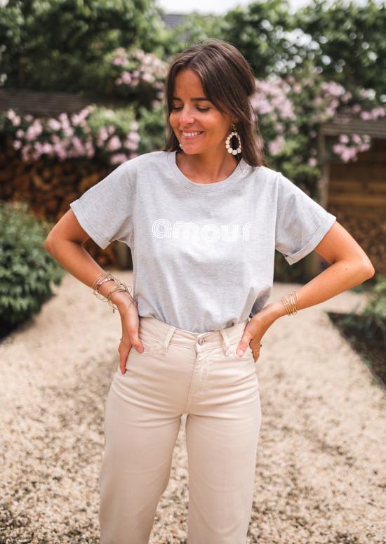 T-shirt Swan gris