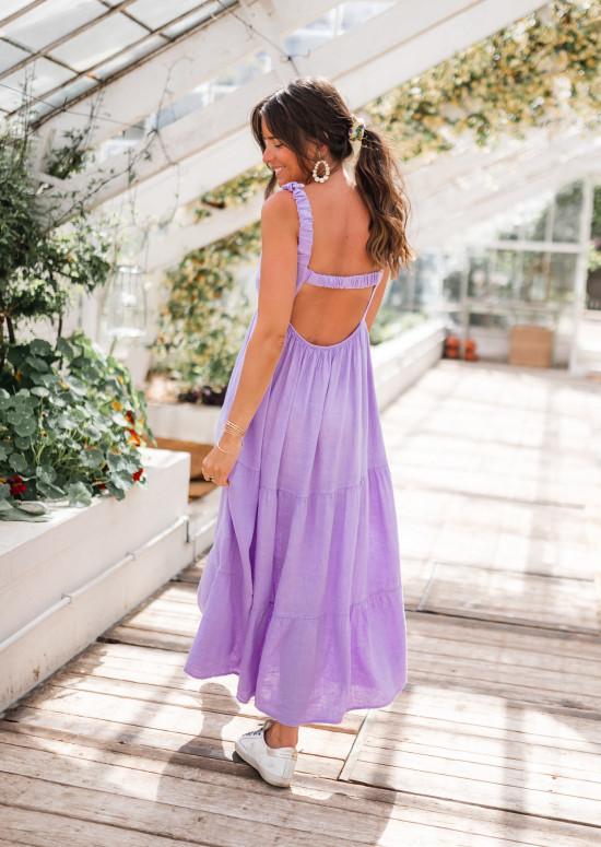 Robe Basha lilas
