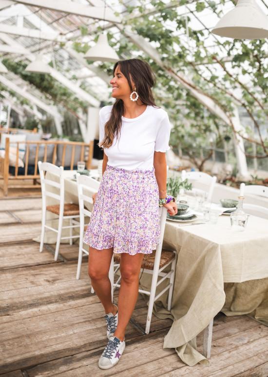 Floral Doddy skirt