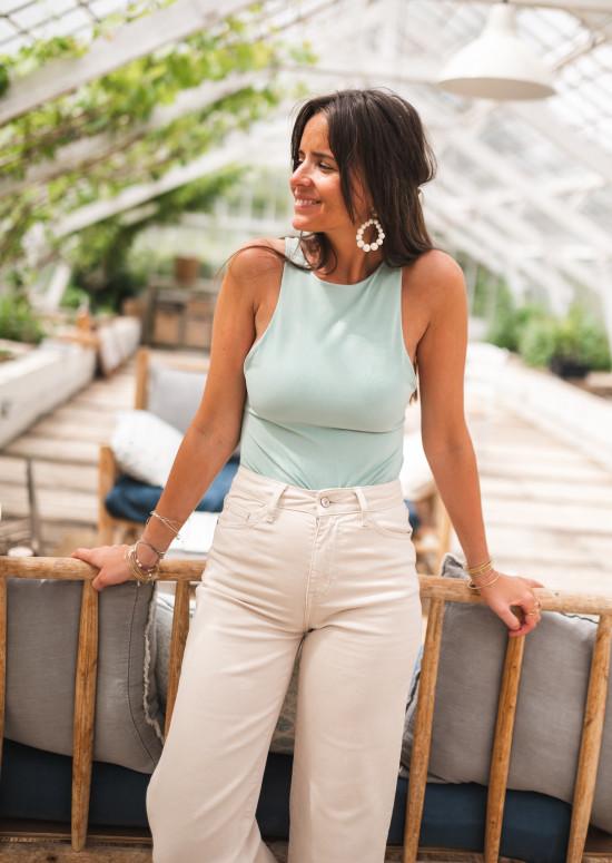 Sage green Cheryl bodysuit
