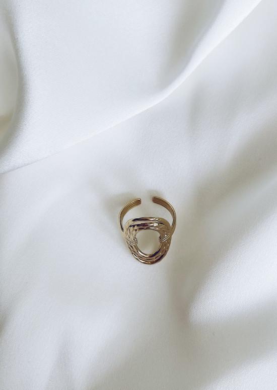 Golden Themis ring