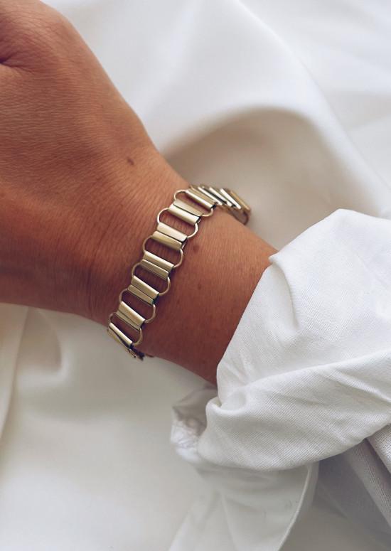 Bracelet Steffi doré