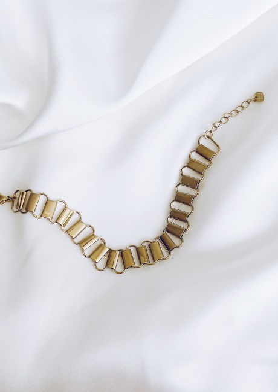 Golden Steffi bracelet
