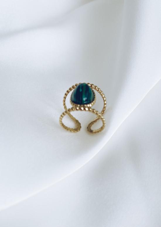 Golden Bony ring