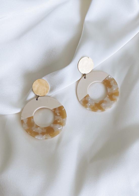 Ecru Verita earrings