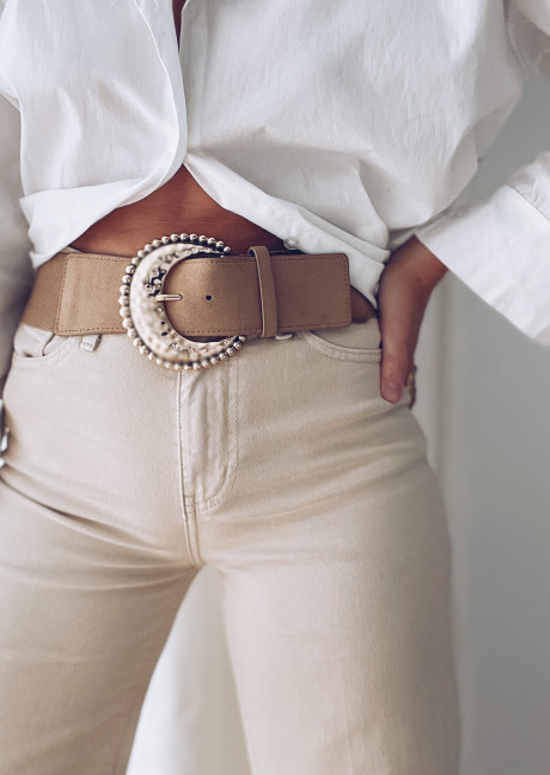 Taupe Hailou belt