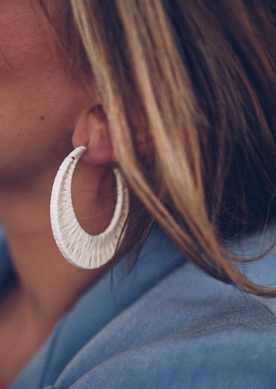 Ecru Cimb earrings