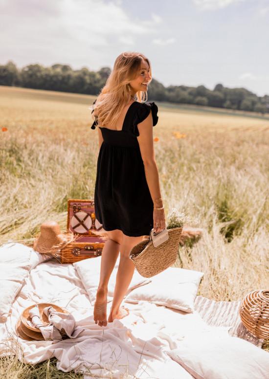 Robe Lynda noire