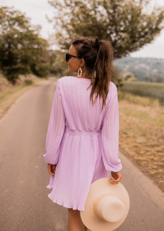 Lilac Vinie dress