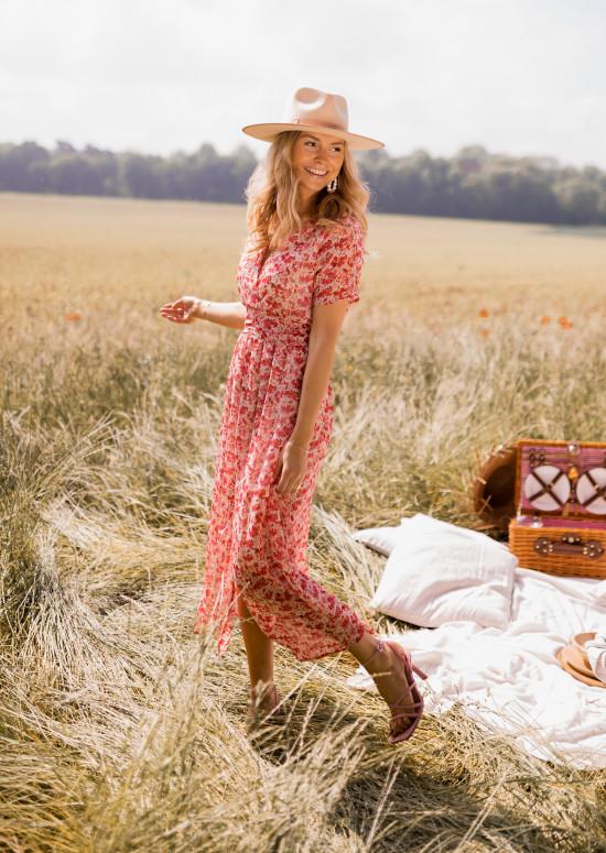 Robe Lilou à fleurs