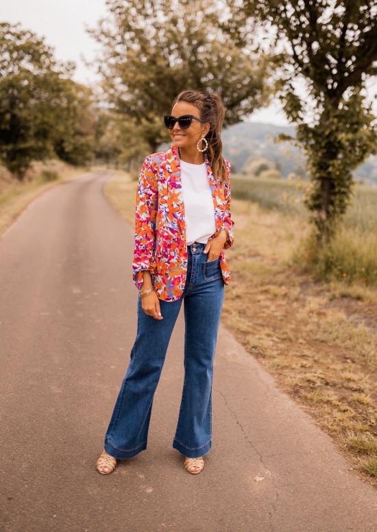 Floral Lisbonne blazer