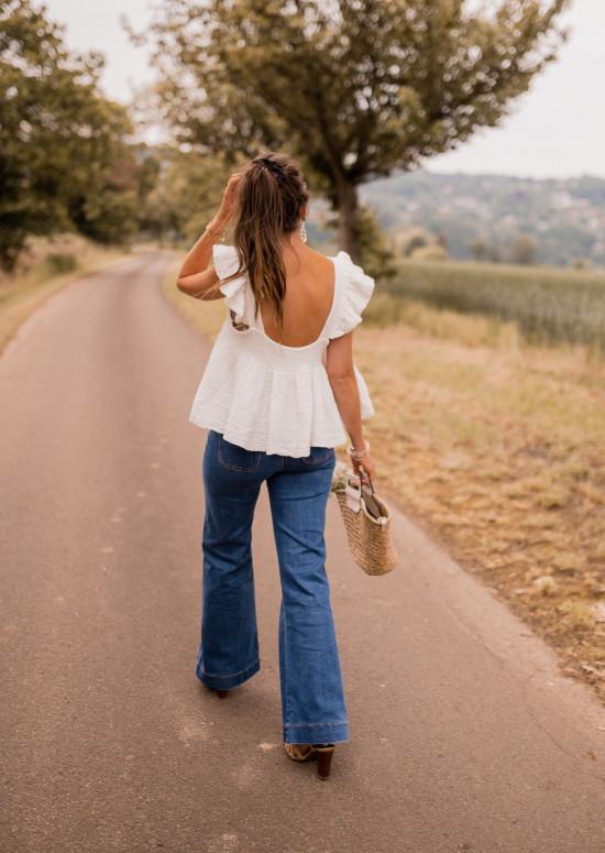 Ecru Alessia blouse