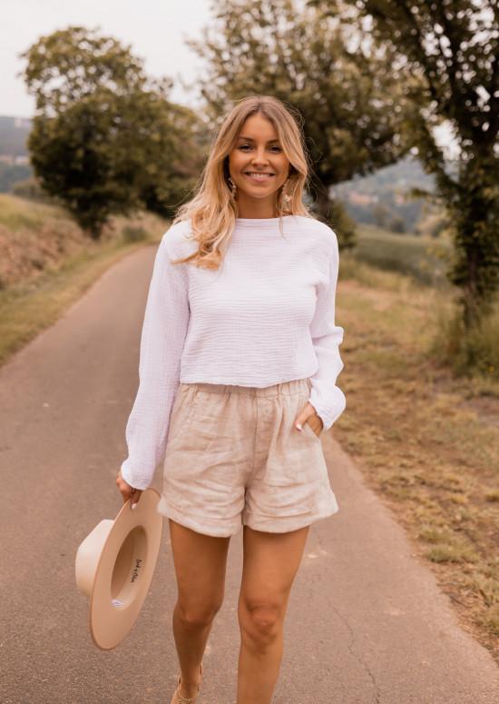 Ecru North blouse