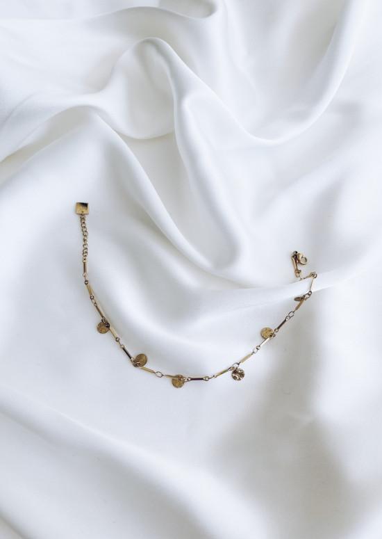 Golden Valia ankle bracelet