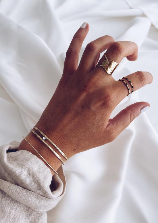Golden Nérée ring