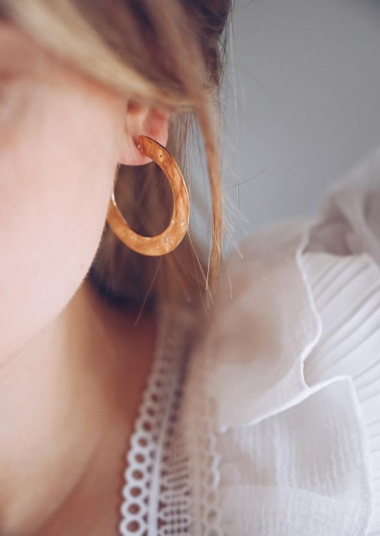 Golden Maé earrings