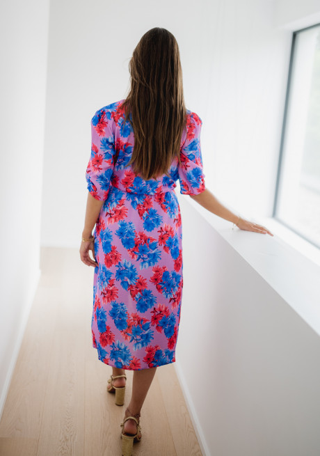 Cooper dress with flowers - CREATION