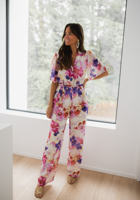 Patterned Ginie jumpsuit - CREATION