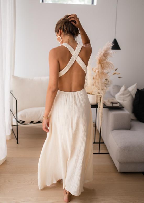 Ecru Parise dress