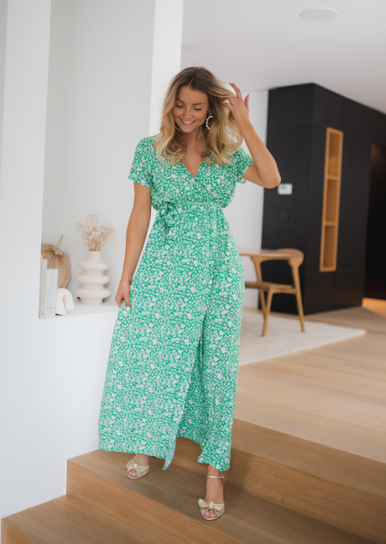 Green Marnie long dress