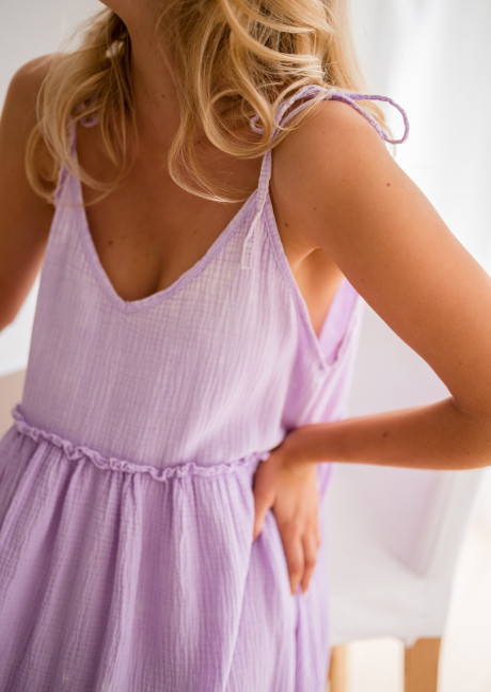 Lilac Tao dress