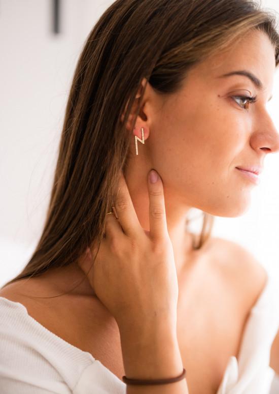 Golden Ning earrings