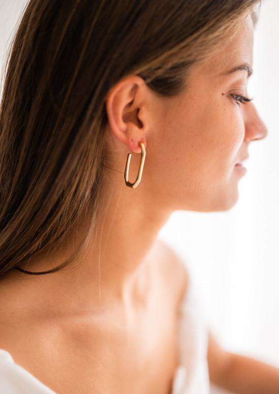 Boucles d'oreilles Kayla dorée