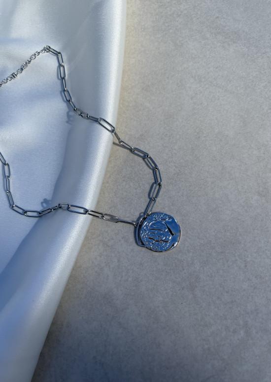 Silvery Louva necklace