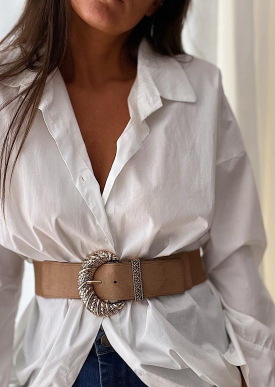 Taupe Ferra belt