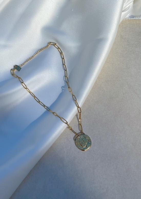 Golden Louva necklace
