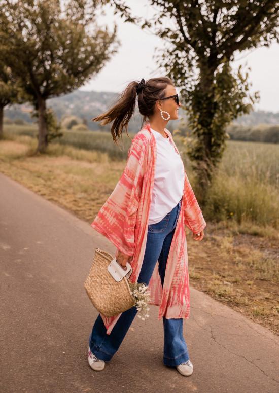 Pink Karola kimono