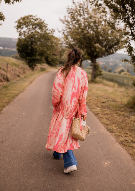 Kimono Karola rose