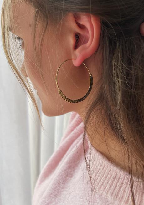 Boucles d'oreilles Kost dorée