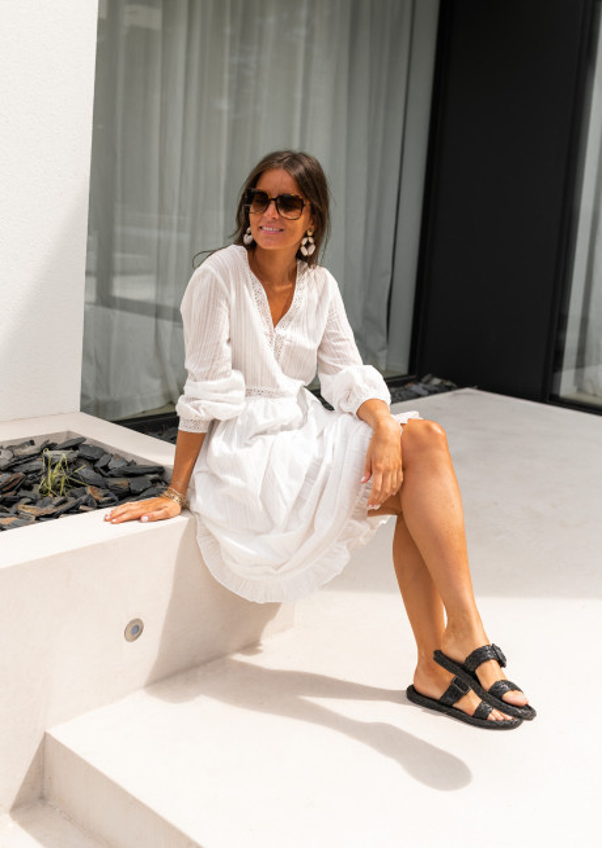 White Francia dress