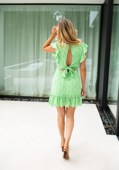 Indiana dress with flowers