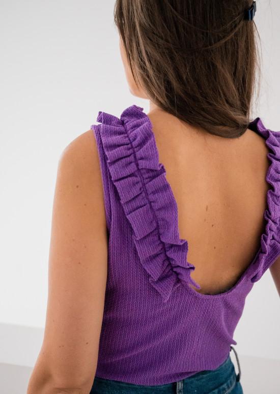 Purple Aryl bodysuit