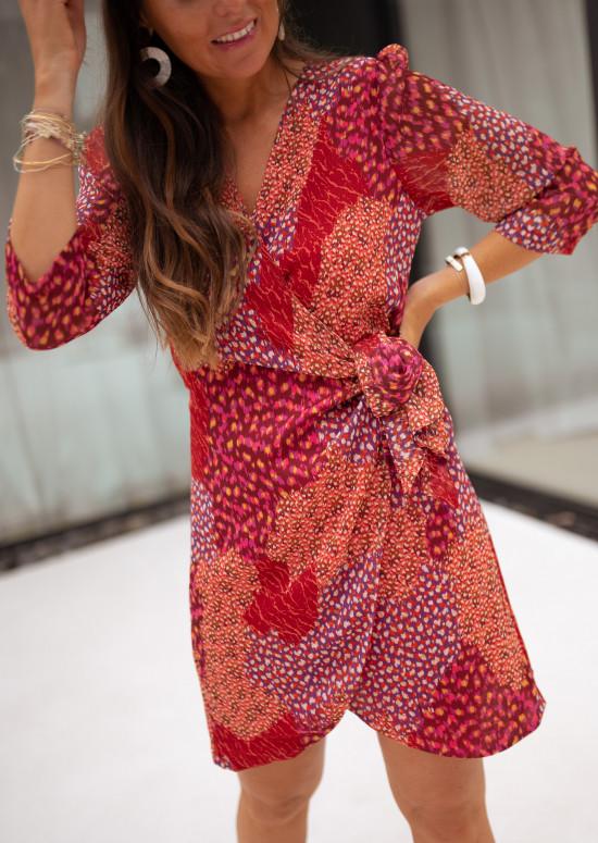 Patterned Neige dress - CREATION