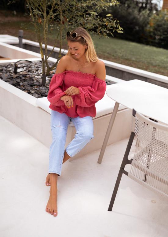 Raspberry Rosa blouse
