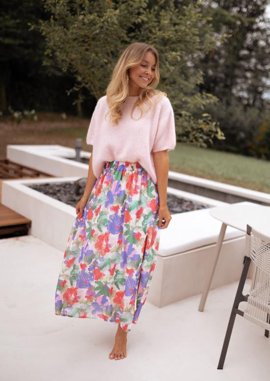 Floral Nancy long skirt