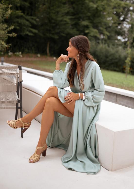Sea green Margot dress