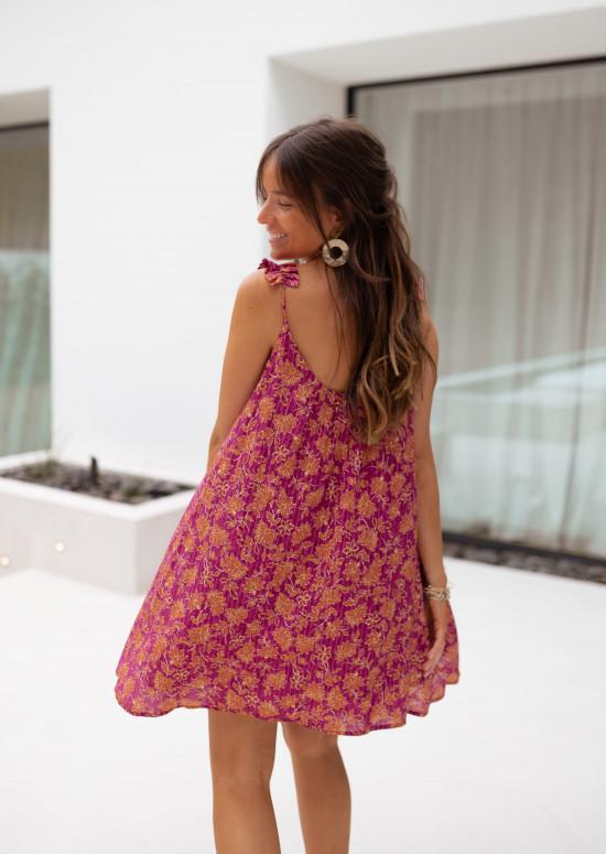 Patterned Pepita dress - CREATION