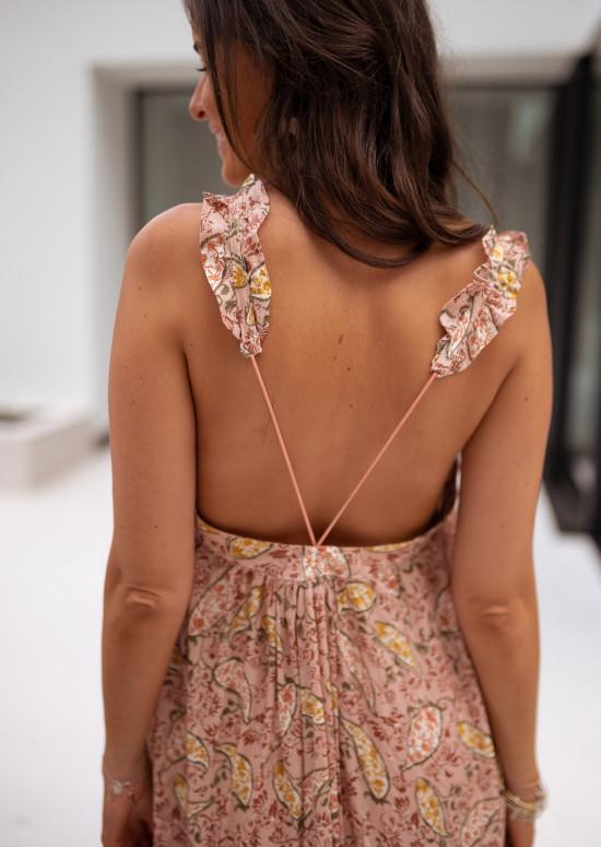 Patterned Xochil dress- CREATION